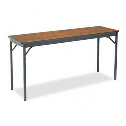 Barricks Classic Folding Table - Rectangle Top - Square Leg Base - 4 Legs - 60\