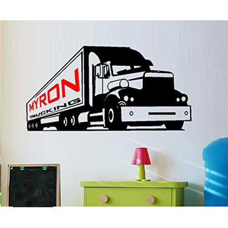 Decal ~ Semi Truck, with Custom