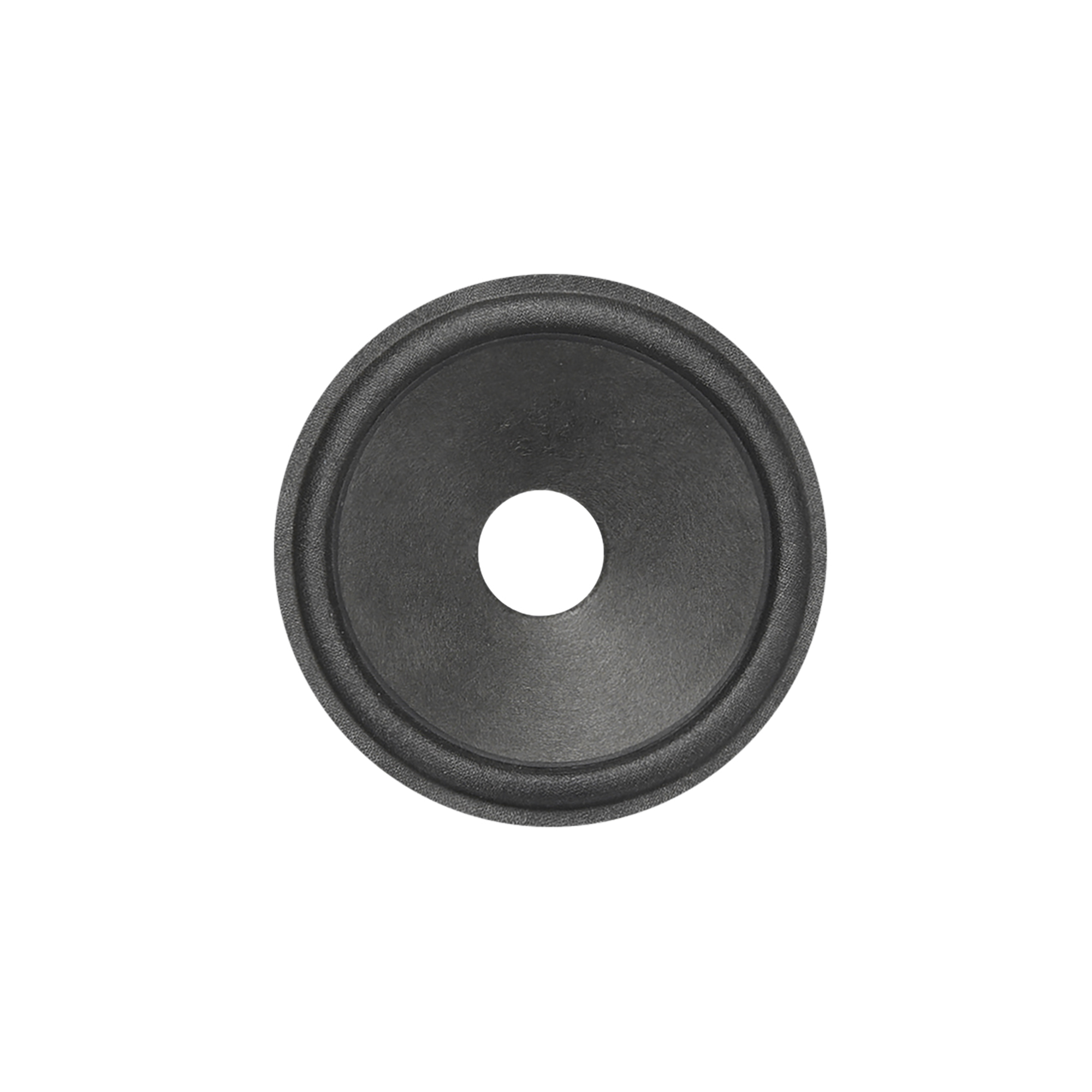 uxcell 6.5 inches Paper Speaker Cone Subwoofer Cones Drum Paper 1 inches Voice Coil Diameter with Rubber Surround Glossy Black