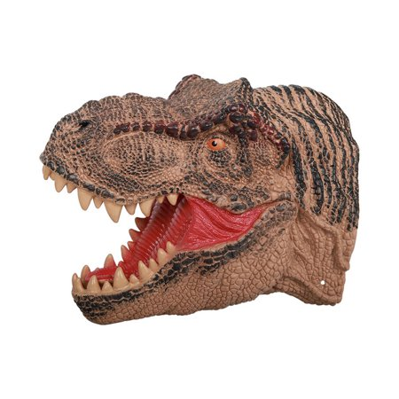 YXwin Hand Puppets Dinosaur Tyrannosaurus Rex Chomping Head Soft Rubber Realistic Appearance Role Play Animals Finger Hand Toy for Kids Adult - Dinosaur Puppy