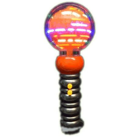 Light Up Musical Spinning Pumpkin Wand