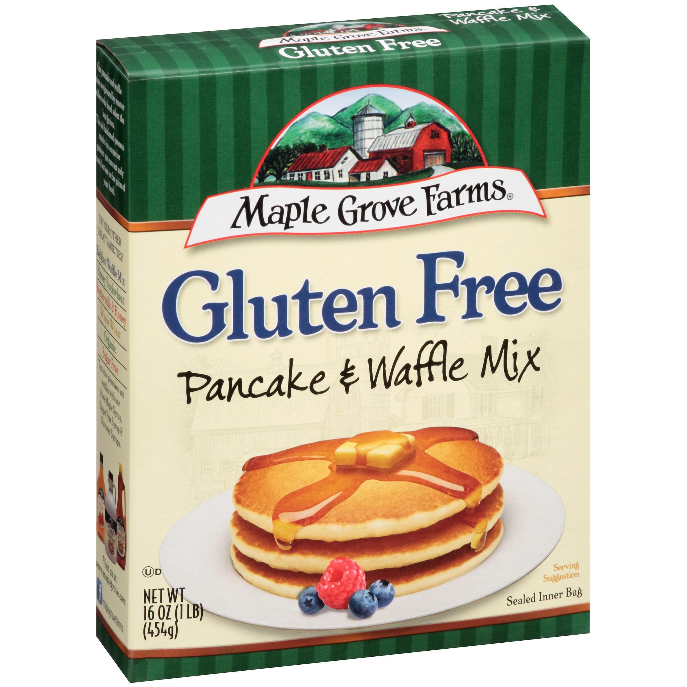 Maple Grove Farms Gluten Free Pancake & Waffle Mix 16 oz. Box by B&G