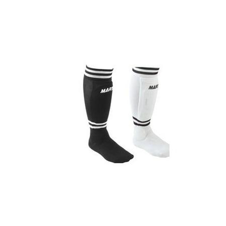 Pair Shin Guards Clothing - Martin Sports Youth Soccer Shinguards Sock Shin Guard Small Medium Large SOC