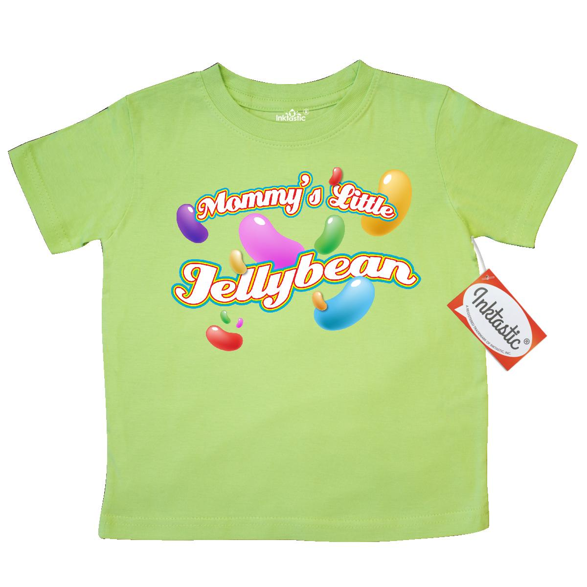Inktastic Mommy's Jellybean Toddler T-Shirt easter jelly beans candy mommy mom tees. gift child preschooler kid clothing apparel