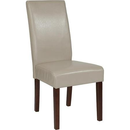 Lt Gray Fabric Parsons Chair - image 8 de 8