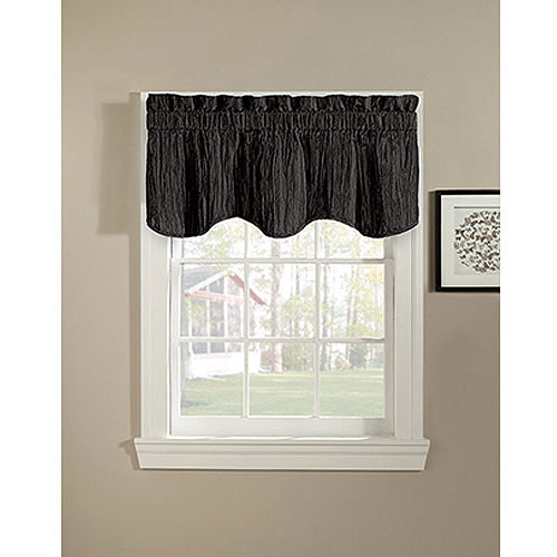 CHF & You Taffeta Scalloped Valance
