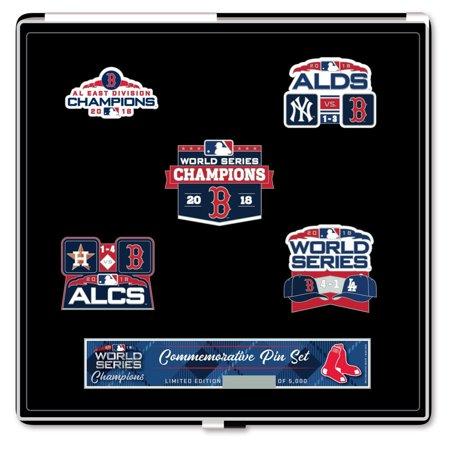 Boston Red Sox 2018 World Series Champions 5-Piece Pin Set - No Size ()