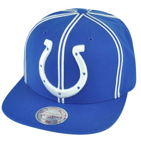 NFL Mitchell Ness Indianapolis Colts NJ31 Panel Outline Retro Snapback Hat  Cap - Walmart.com 6a434efca3dc