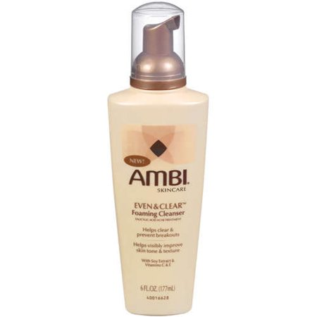 Image of Ambi Even & Clear Foaming Cleanser 6 fl oz