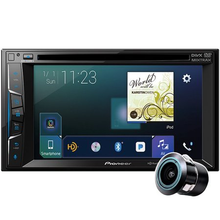 - Pioneer AVH-1330NEX with Free Bullet Backup Camera! Multimedia DVD Receiver with 6.2