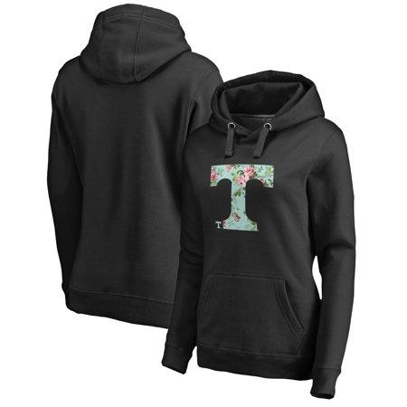 Tennessee Volunteers Crew Sweatshirt - Tennessee Volunteers Fanatics Branded Women's Lovely Pullover Hoodie - Black