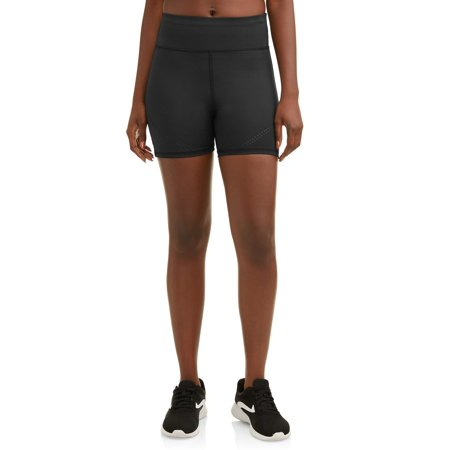 Women's Active Lasercut Detail Bike Shorts