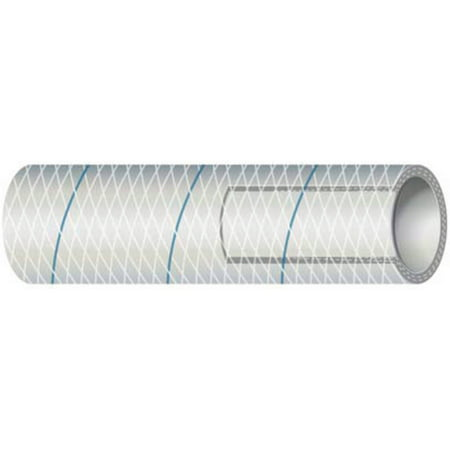 Shields Marine Hose Clear Reinforced Series 164 PVC Tubing with Blue