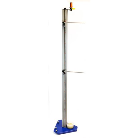 Free Fall Apparatus, Advanced 'G' Kit - Ideal for Studying Acceleration by Gravity - Aluminum Extrusion Column with Scale, Electromagnet, Rods and Clamps - Eisco Labs