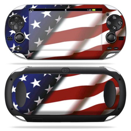 MightySkins Skin For Sony PS Vita – American Eagle | Protective, Durable, and Unique Vinyl Decal wrap cover | Easy To Apply, Remove, and Change Styles | Made in the