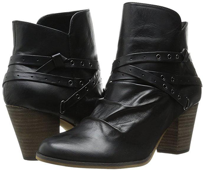 Bella Vita Women's Kiki Boot Black Leather by Bella Vita