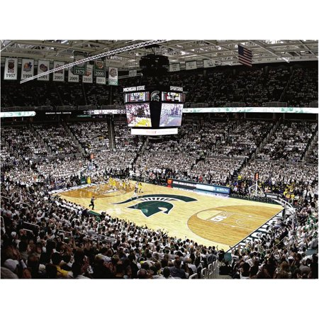 Michigan State Spartans Fathead Basketball Giant Removable Wall Mural - No -