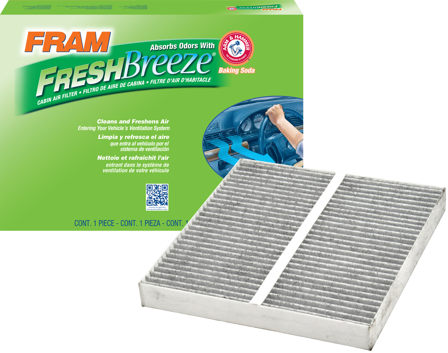 Fram Fresh Breeze Cabin Air Filter Cf10372 Walmart