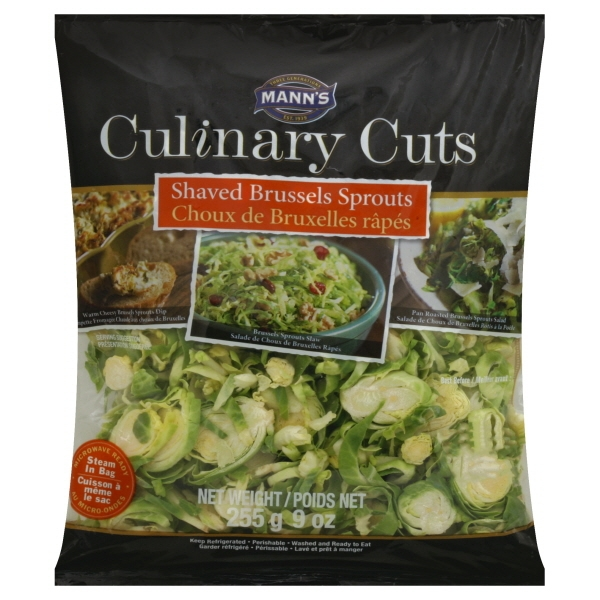 Mann Packing Manns Culinary Cuts Brussels Sprouts, 9 oz