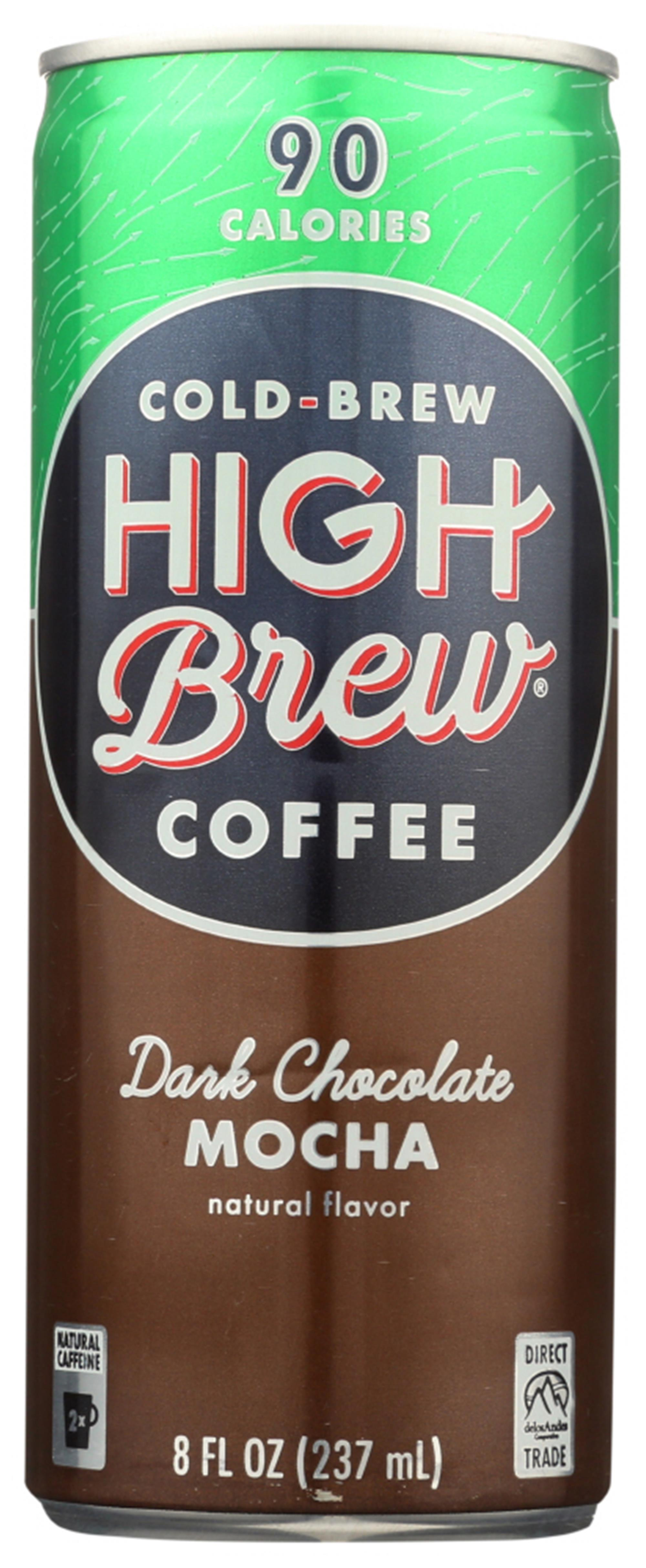 (12 Pack) High Brew Cold-Brew Coffee, 8 FZ