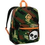 """Camo Skull 16"""" Light Up Backpack"""