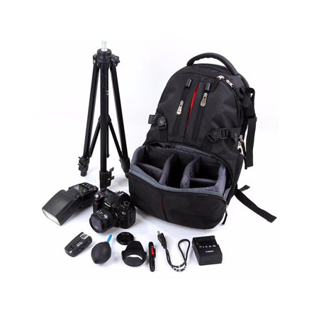 Waterproof Camera Backpack Shoulder Bag Case Laptop Bag For Camera & Lens EOS SLR DSLR 17