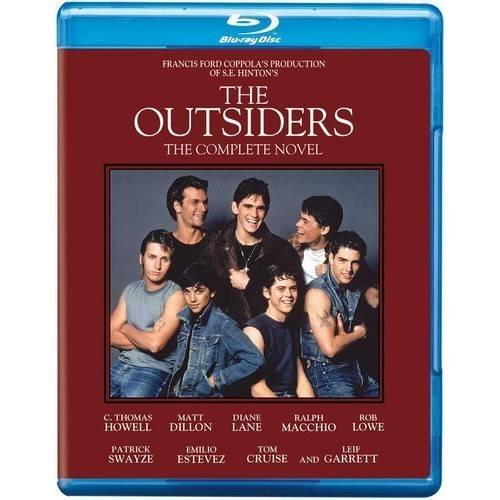 OUTSIDERS-COMPLETE NOVEL EDITION (BLU-RAY)