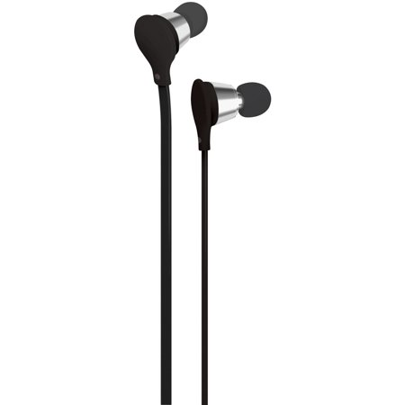AT&T EBV01-BLK Jive Noise-Isolating Earbuds with Microphone & Volume Control (Black) ()