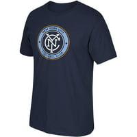 MLS-New York City FC-Men's-Logo Tee