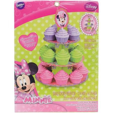 Wilton Disney Mickey Mouse Clubhouse Minnie Treat Stand, 1 Ct - Mickey Mouse Cupcake Stand