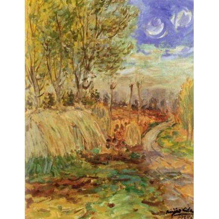 Decorative Notebook: Landscape Kida Kinjiro (Diary