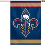 "New Orleans Pelicans WinCraft 28"" x 40"" Two-Sided Vertical Flag - No Size"