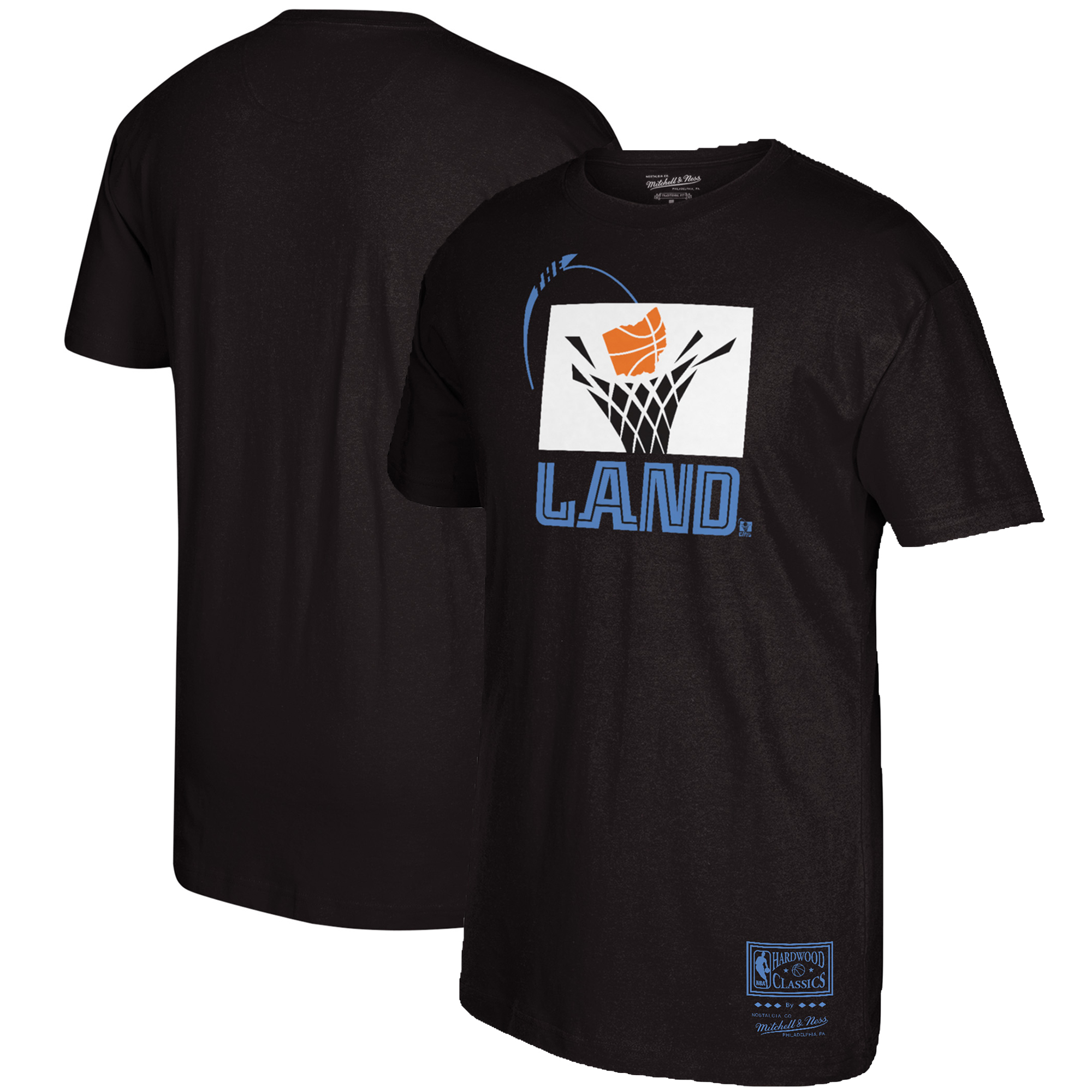 Cleveland Cavaliers Mitchell & Ness The Land Hometown T-Shirt - Black