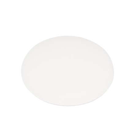 Unique Bargains 1/2pcs White Rubber Adhesive Wall Guard Door Handle Bumper Stop Stopper Protector