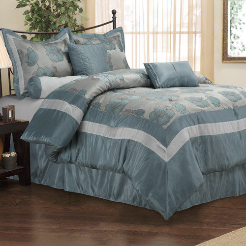 Luxor Treasures Aloha 7 Piece Bedding Set