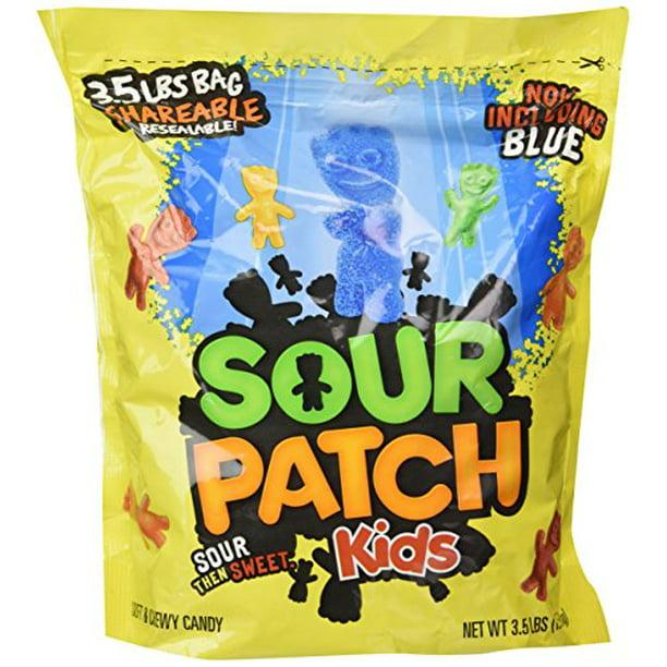 Sour Patch Kids Bag Drs 3 5 Pounds Sour Flavored Candies Walmart Com Walmart Com