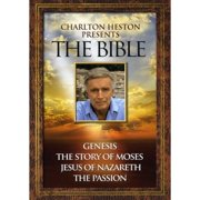 Charlton Heston Presents The Bible (4 Pack DVD) by WARNER HOME ENTERTAINMENT