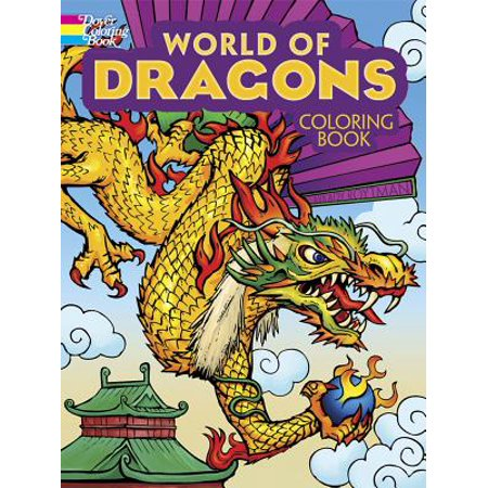 World of Dragons Coloring