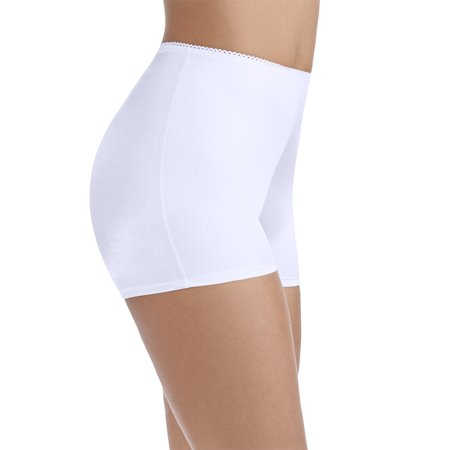 269f940ef24 Radiant by Vanity Fair - Women's Undershapers Light Control Boyshort Panty,  3 Pack, Style 3442301 - Walmart.com