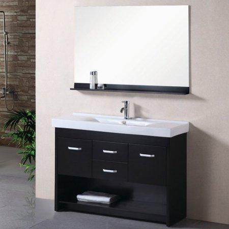 Design Element DEC074-S Citrus 48-in. Single Bathroom Vanity Set