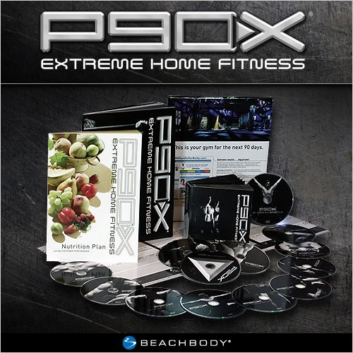 P90X: Tony Horton's 90-Day Extreme Home Fitness Workout D...