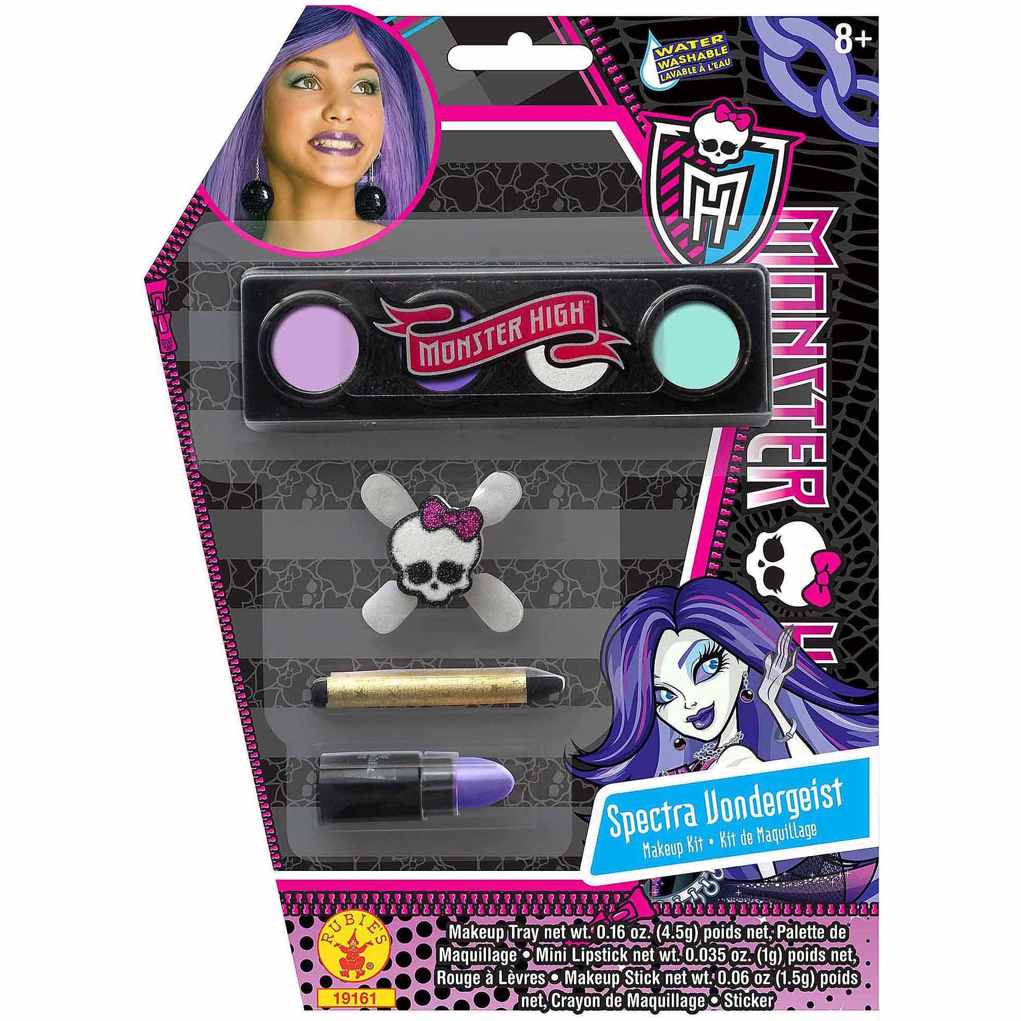 monster high spectra vondergeist makeup kit adult