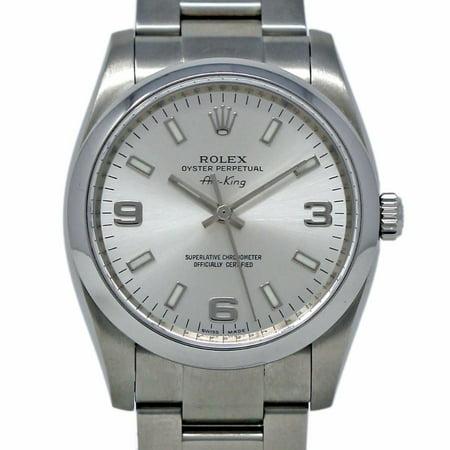 Rolex Oyster Perpetual 114200 Steel Women Watch (Certified Authentic & Warranty)