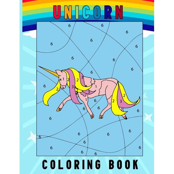 Unicorn Coloring Book: A Fun Kid Workbook Game For ...