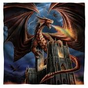 "Anne Stokes - Dragons Fury - Bandana - 22"" x 22"""