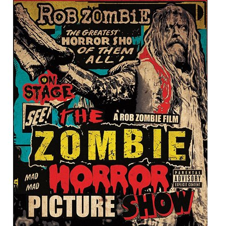 Zombie Horror Picture Show (Explicit) (Music Blu-ray)