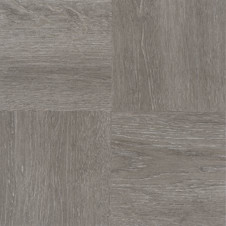 Achim Nexus Charcoal Grey Wood 12x12 Self Adhesive Vinyl Floor Tile - 20 Tiles/20 sq.