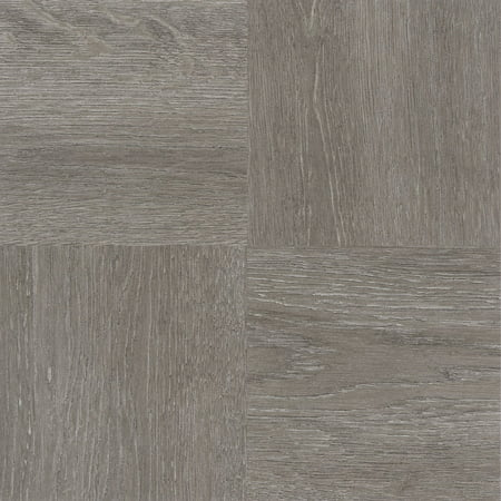 Nexus Charcoal Grey Wood 12x12 Self Adhesive Vinyl Floor Tile 20