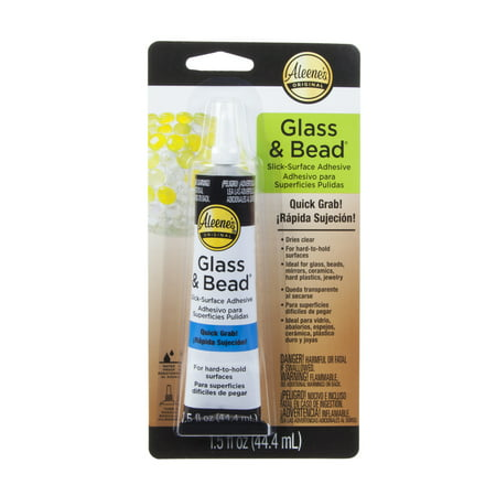 Aleene's Glass & Bead Adhesive, 1.5 Fl. (New Handmade Glass Bead)