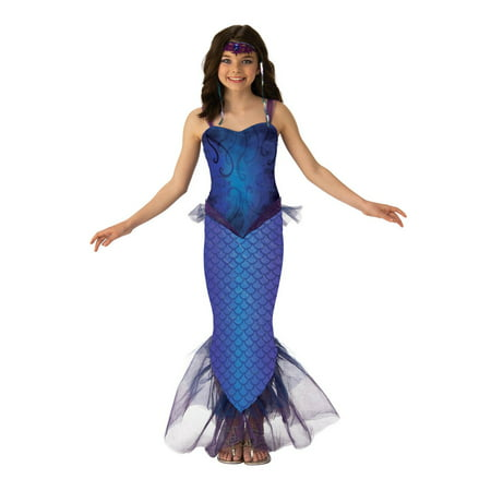 Diy Mermaid Halloween Costumes (Girls Mysterious Mermaid)